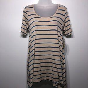 LuLaRoe Striped Perfect T, size xxs